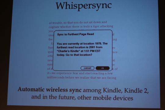Live at the Amazon Kindle Event | TechCrunch