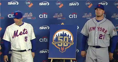 50th Anniversary Mets Press Conference