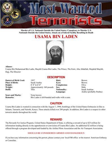osama bin laden young. Osama bin Laden