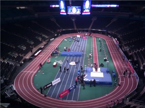 Runblogrun live from u s open jan 28 2012 for Madison square garden concert tonight