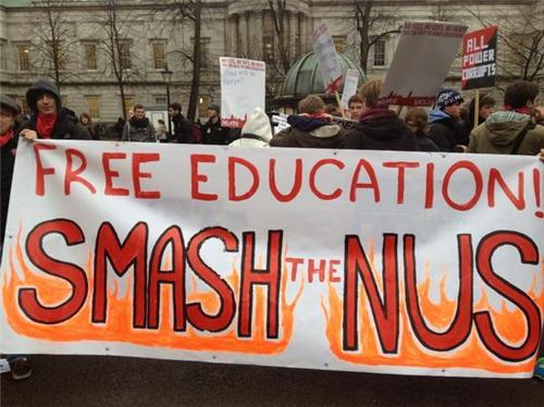 Londra 21.11 - Corteo degli studenti, tanta rabbia e tensioni [ITA-ENG]