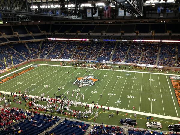 Ford Field Pizza Bowl