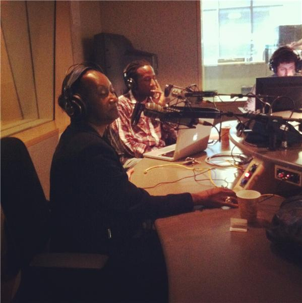 The roundtable guests Delores Henderson and Toki Wright.