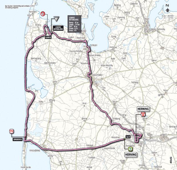 Stage 2 2012 Giro dItalia Herning to Herning 206 km Liveblog