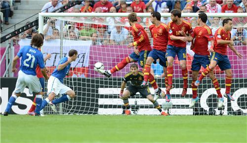 Eurocopa: España e Italia empatan 1-1