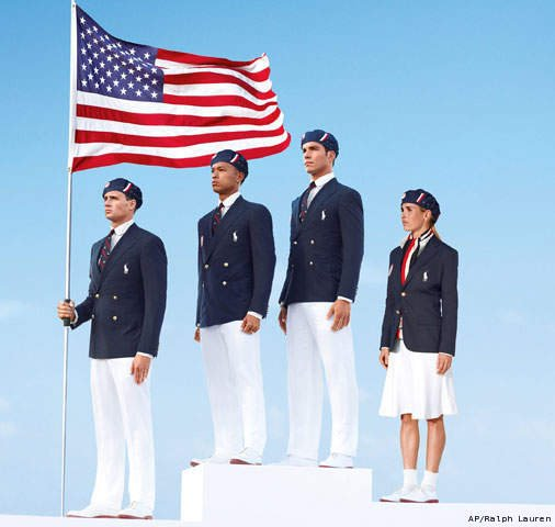 Berets, navy blazers and white pants: US Olympic Opening Ceremony outfits (photo) <a href=