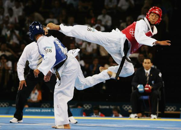 Pic: Did you know, the word #Taekwondo translates into English as the way of foot and fist #London2012 <a href=