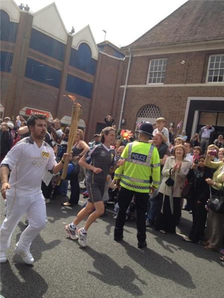 @London2012  Redhill - Day 63 of the Olympic Torch Relay!! <a href=