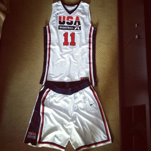 Team USA Dream Team throwbacks. <a href=