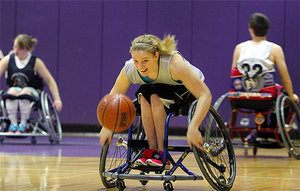 Elysian's Rose Hollerman is one of seven Minnesotans competing in the London Paralympics, which begin August 29. Dan Olson of MPR News <a href=