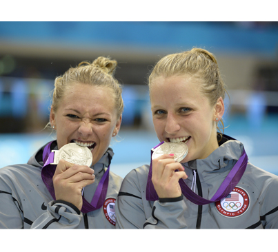 RT @NBCOlympics: PHOTO: @kelci_bryant & @abbyljohnston with their silver medals! <a href=