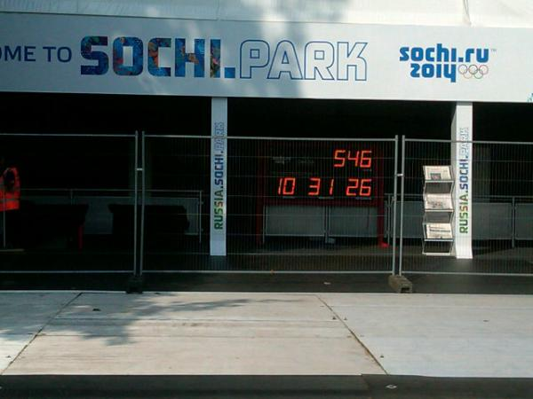 Countdown to Sochi winter games <a href=