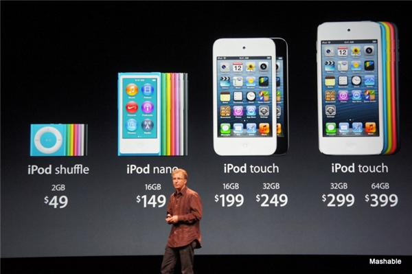 Presentación del iPhone 5, Vídeo y directo.
