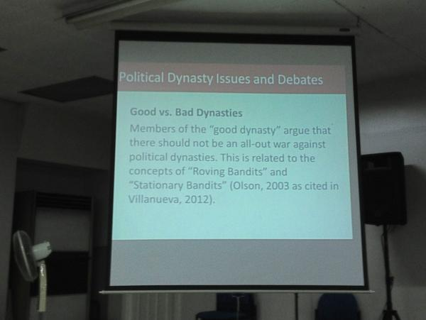 PHvote] Political Dynasties: A Challenge to Political Reform