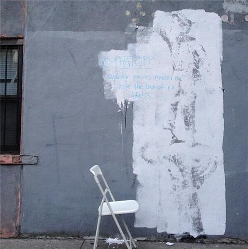 Banksy paints nyc in 39 better out than in 39 street show ny for Banksy mural painted over