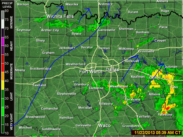 live weather radar dallas texas