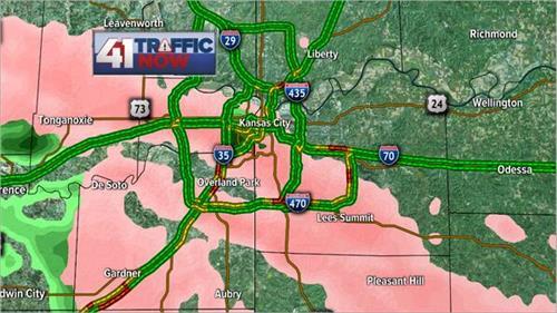 Kansas City Traffic Map 41 Traffic Now   Live Coverage   KSHB.com