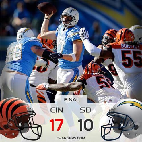 San Diego Chargers Cincinnati Bengals: FOLLOW LIVE: Bengals Vs. Chargers