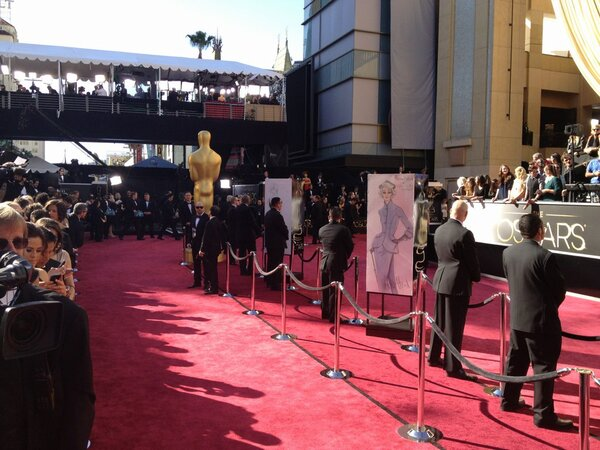 Oscars 2013: Red carpet recap
