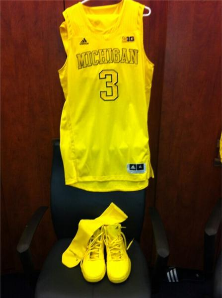 17c033e23ce5 Michigan Men s Basketball  umichbball. Want a sneak peak at our special  uniforms for tonight s rivalry game against Ohio State