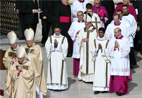 Live Blog The Installation Mass Of Pope Francis