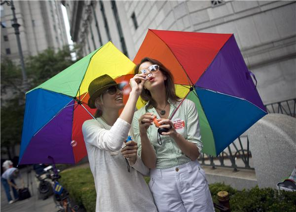 Supreme Court weighs same-sex marriage cases