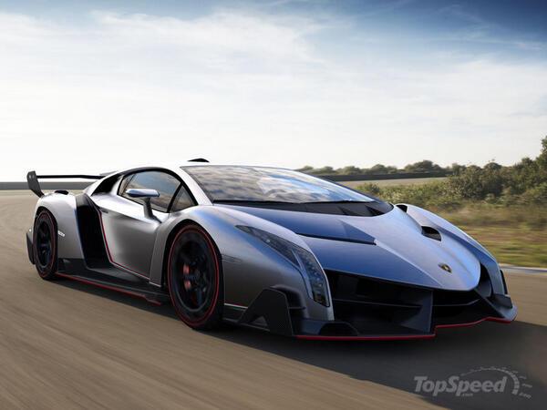 Новый Lamborghini Veneno: фото…