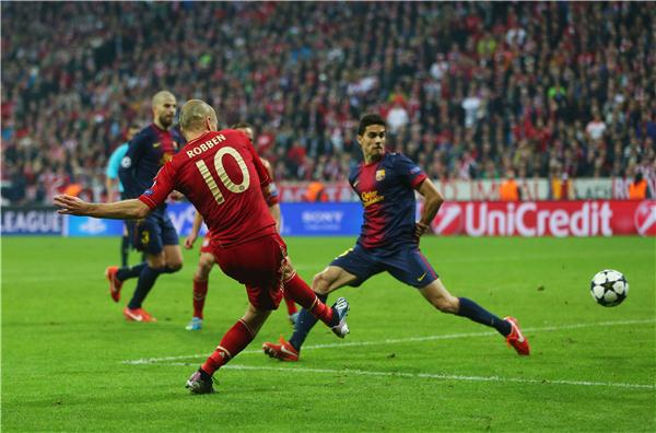 Chions league bayern munich v barcelona live