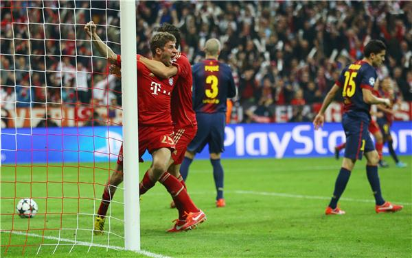 Champions League Bayern Munich V Barcelona Live Live Coverage The Independent