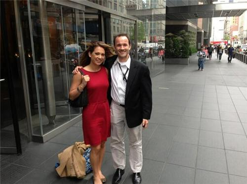 Ginger Zee See Through
