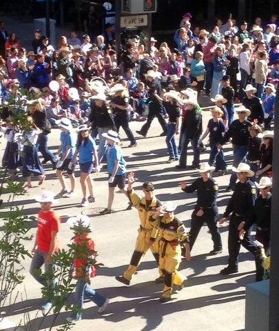 Calgary Stampede Parade Cbc Ca News
