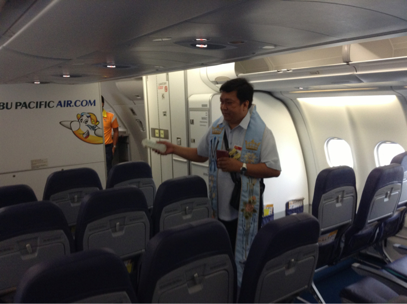 Inauguration Of Cebu Pacifics Airbus A330