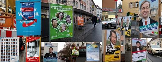 die freien wähler plakat