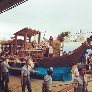 Float of ABS-CBN Cebu Sinulog 2014 - YouTube