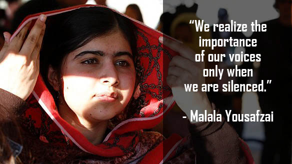 Quotes From I Am Malala Interesting 5 Inspiring Quotes From I Am Malala  Cbc.ca News