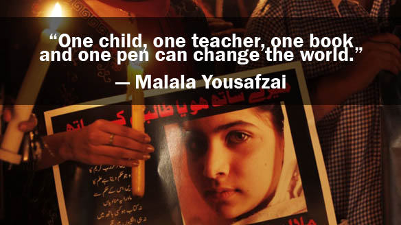 5 Inspiring Quotes from I Am Malala - CBC.ca News