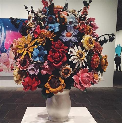 Jeff Koons A Retrospective Is At The Whitney Museum Through Oct 19