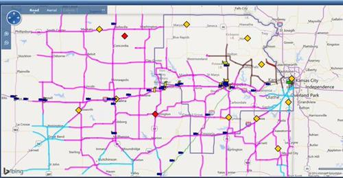 41 Traffic Now - Live Coverage - KSHB.com on 511 kansas map, stafford county historical map, linn county iowa map, blue valley csd map, ks turnpike map,