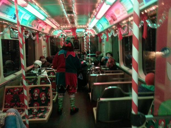 Cta Holiday Train And Bus Tracker