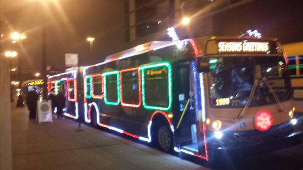 cta holiday train and bus tracker - Cta Christmas Train 2014