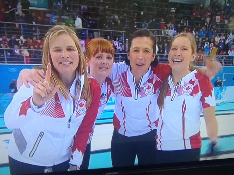 Jones Curling Gold Curling Gold Medallists