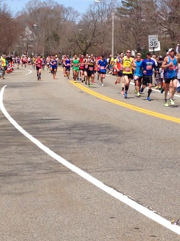 boston marathon live