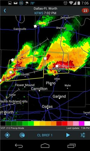 channel 5 dfw weather radar