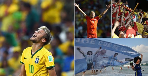 Netherlands vs Costa Rica - World Cup 2014 LIVE: Latest ...