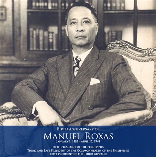 What Were the Programs of President Manuel A. Roxas?