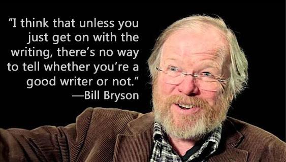 bill bryson travel writing essays