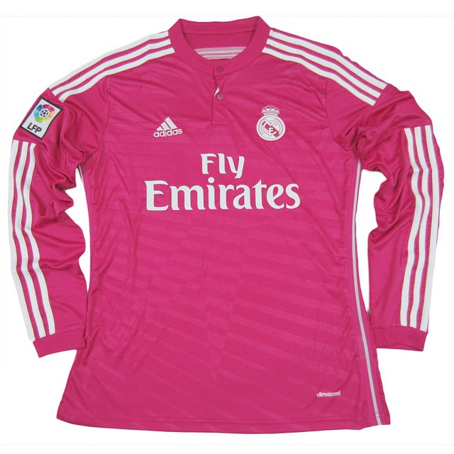best authentic 60feb 52043 2014 15 real madrid 8 croos away pink soccer shirt kit