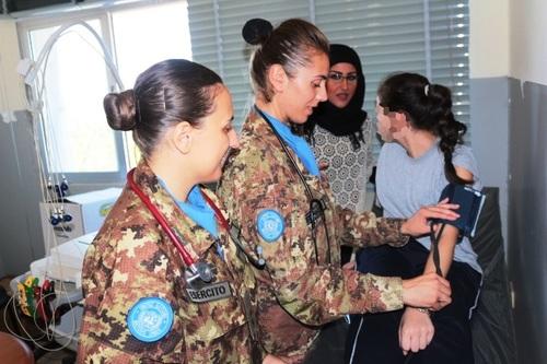 A raccontarci l attività è il Tenente medico Elisa Regna 8a01c54058c6
