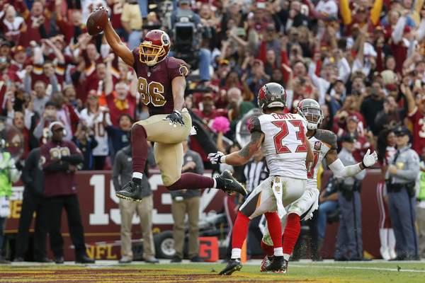 Nike NFL Jerseys - Live: Bucs vs. Redskins