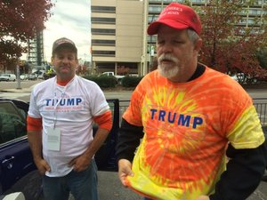 Temple are in Knoxville from Homosassa, Fla., to sell Donald Trump ...
